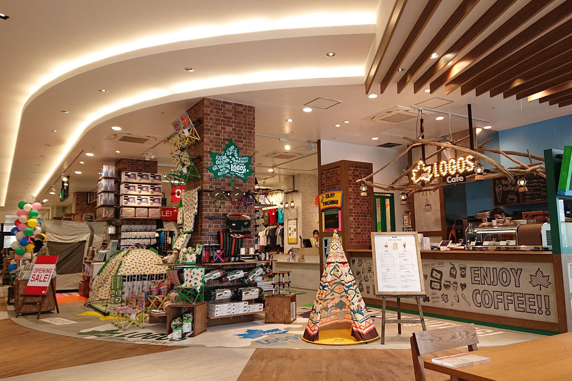LOGOS SHOP & CAFE 三井アウトレットパーク 横浜ベイサイド店